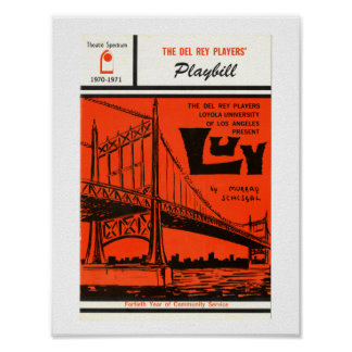 LMU Library LUV Playbill Poster