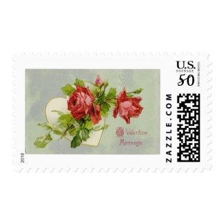 LMU Library Valentine's Day Stamp