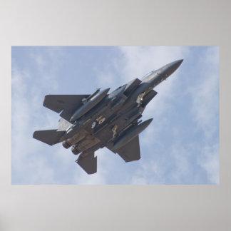 LN AF 91 0301 F-15E Strike Eagle Poster