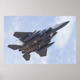 LN AF 91 0329 F-15E Strike Eagle Poster