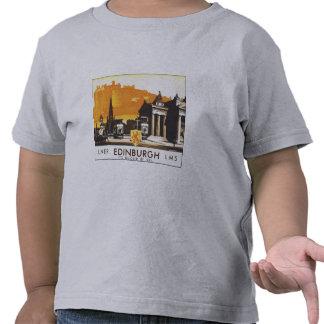 LNER Edimburgo LMS es más rápido por el carril Camisetas