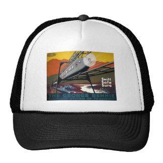 LNER Railplane Poster Mesh Hats
