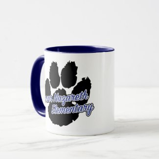 LNES Pawprint Coffee Mug