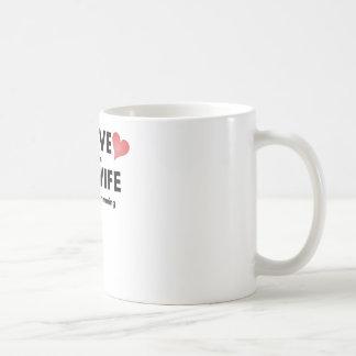 Lo amo cuando mi esposa me deja ir a nadar tazas de café