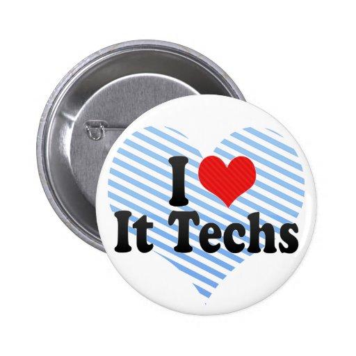 Lo amo las tecnologías pin