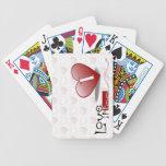 Lo amo también los naipes baraja cartas de poker