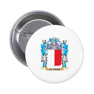 Lo-Bono Coat of Arms - Family Crest Buttons
