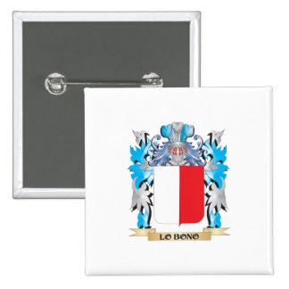 Lo-Bono Coat of Arms - Family Crest Pin