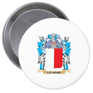 Lo-Bono Coat of Arms - Family Crest Button