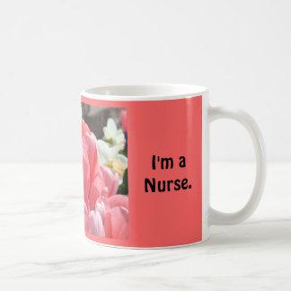 Lo fijaré Soy enfermera Cuidado de los regalos d Taza De Café