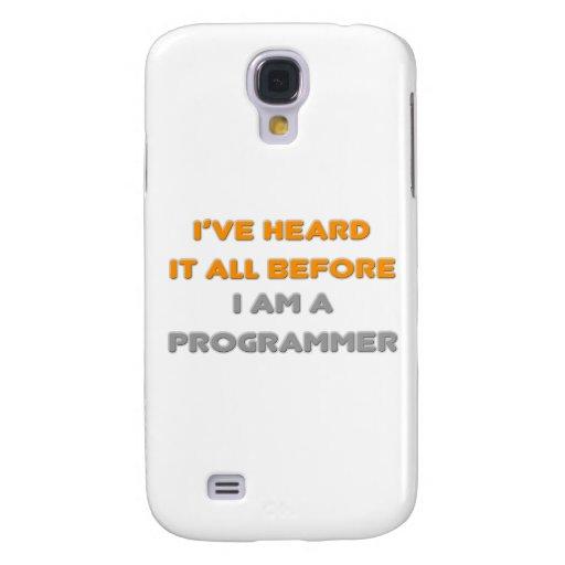 Lo he oído todo antes. Programador