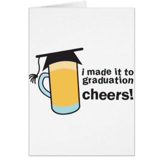 ¡Lo hice a las ALEGRÍAS de la graduación! Tarjetas
