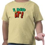 Lo hice las camisetas y los regalos de la