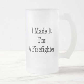 Lo hice que soy bombero tazas de café