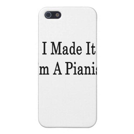 Lo hice que soy pianista iPhone 5 fundas