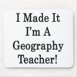 Lo hice que soy profesor de la geografía tapetes de ratones