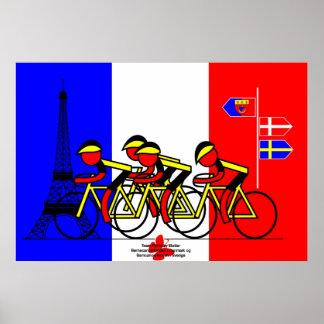 Lo hicimos - combine Rynkeby en París Posters