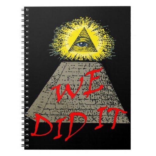 lo hicimos (el illuminati) cuaderno