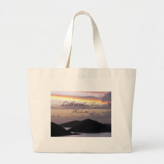 Lo, I am with you always. Canvas Bag