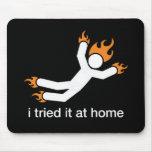lo intenté en casa - hago todos mis propios trucos tapete de raton