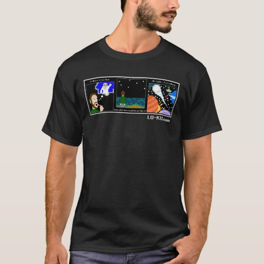"""LO-KU """"Boundless, Ceaseless"""" T-shirt (dark)"""
