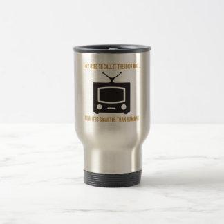 Lo llamaban la caja de idiota. tazas de café