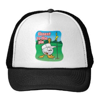 Lo más cerca posible al premio del agujero del tor gorra