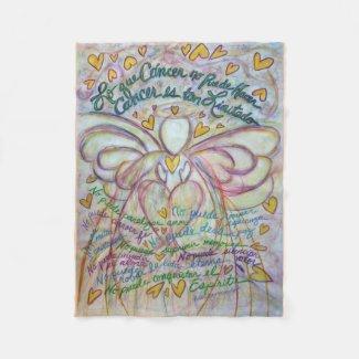Lo que Cáncer no Puede Hacer Angel Chemo Blanket