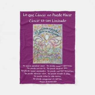 Lo que cáncer no Puede Hacer Angel Chemo Blankets