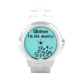Lo que el última de todos modos caer im numera relojes