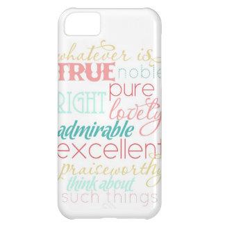 """lo que es caso verdadero """"caramelo del iPhone de a Funda Para iPhone 5C"""