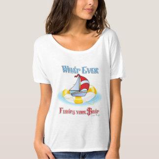 Lo que flota su barco playera
