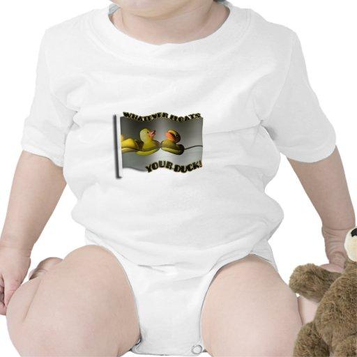 Lo que… ¡FLOTA SU PATO! Camisetas