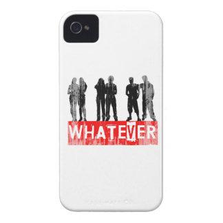 Lo que le hace Faded.png feliz iPhone 4 Cárcasa