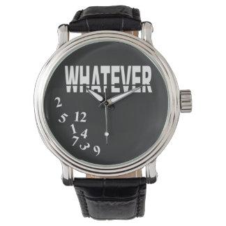 Lo que negro blanco del | relojes