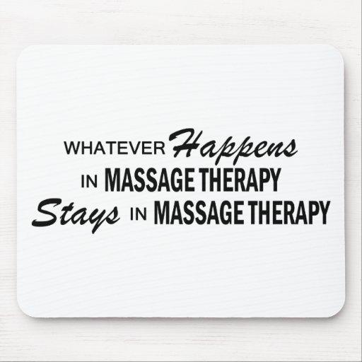 Lo que sucede - dé masajes a la terapia alfombrillas de ratones