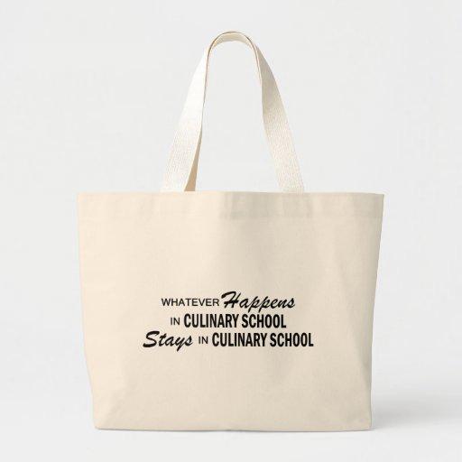 Lo que sucede - escuela culinaria bolsa