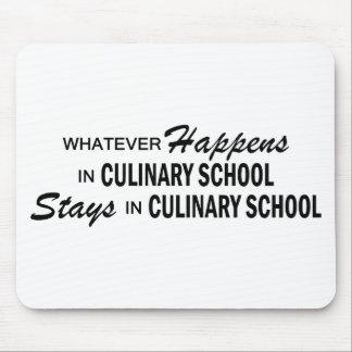 Lo que sucede - escuela culinaria tapete de raton