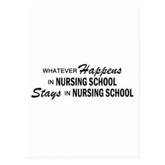 Lo que sucede - escuela de enfermería postal
