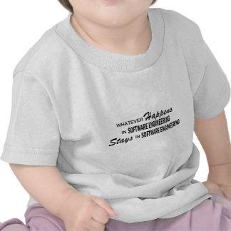 Lo que sucede - ingeniería de programas informátic camiseta