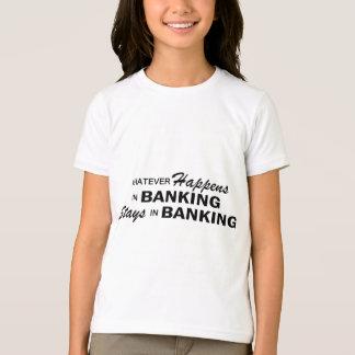 Lo que sucede - las actividades bancarias polera