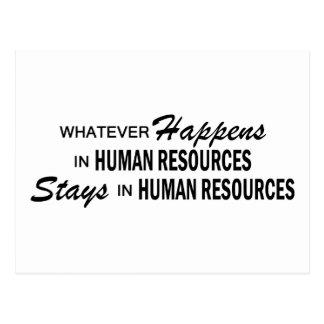 Lo que sucede - los recursos humanos postal