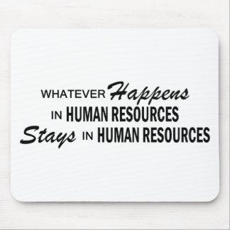 Lo que sucede - los recursos humanos tapete de ratones