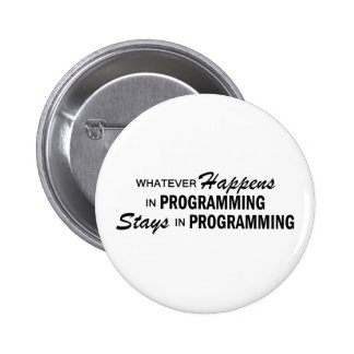 Lo que sucede - programación pin redondo 5 cm