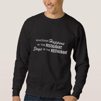 Lo que sucede - restaurante sudadera