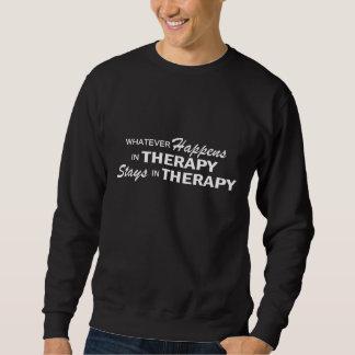 Lo que sucede - terapia sudadera
