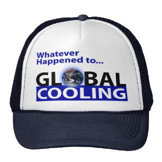 ¿Lo que sucedió al enfriamiento global? Gorros Bordados