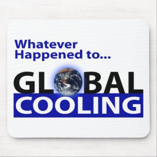 ¿Lo que sucedió al enfriamiento global? Tapete De Ratón