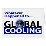 ¿Lo que sucedió al enfriamiento global? Tarjeta
