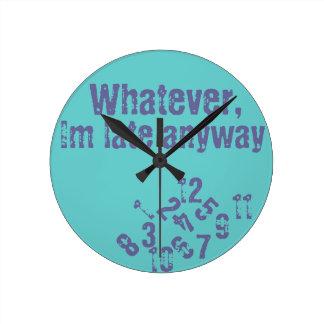 Lo que último reloj de pared im